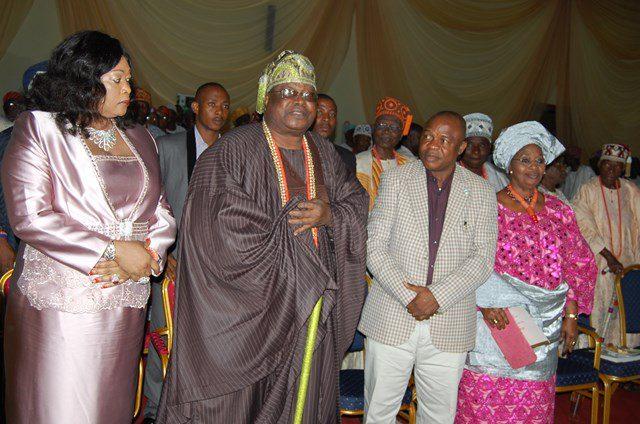Olori Oluwakemi Adetona, His Royal Highness, Oba Sikiru Adetona, Awujale Of Ijebuland, Secretary To  Ogun State Government, Barrister Adeoluwa Taiwo, Represents  Ogun State Governor And  Olori Agba, Iyabode Adetona