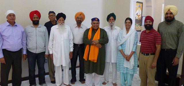 Rajan Zed at Las Vegas Sikh Temple