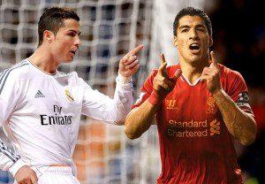 Ronaldo And Suarez