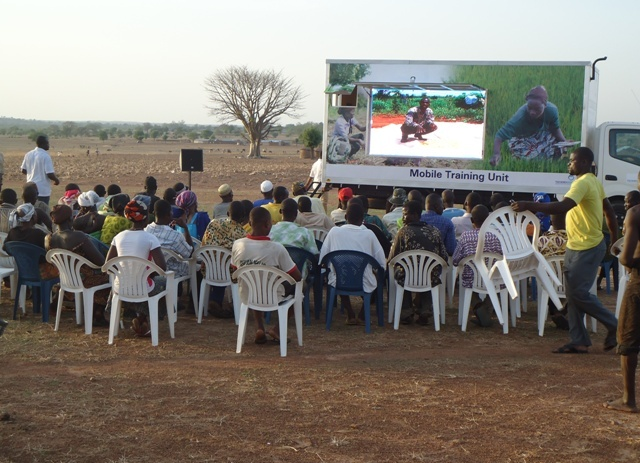 Smallholder Farmers at a training session