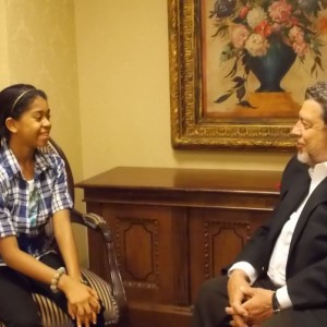 Zuriel with H.E. Prime Minister Ralph Gonsalves