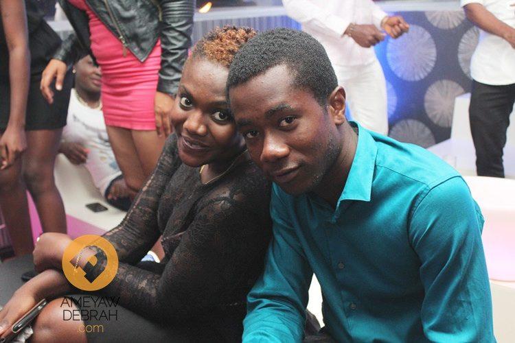 Chris Attoh and Damilola birthday