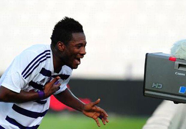 Asamoah Gyan extends goalscoring spree in UAE