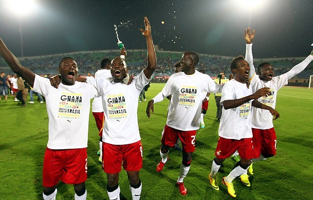 Black Stars to play local select side in farewell match on Tuesday