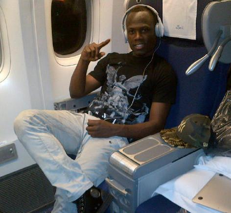 Emmanuel Agyemang-Badu arrived on Monday night