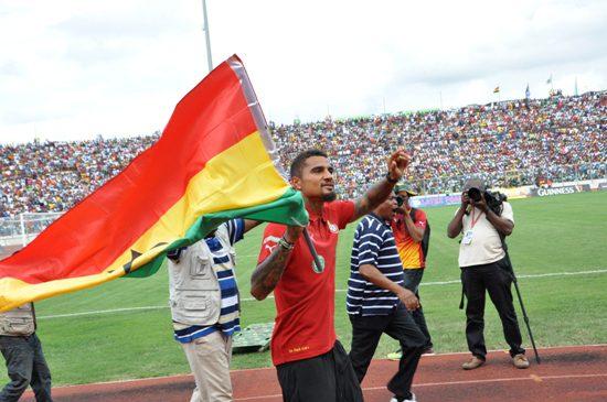 Ghana forward Kevin-Prince Boateng