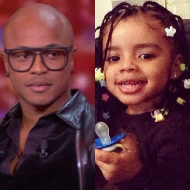 Andre Ayew and sweet daughter