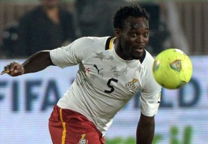 AC Milan star Michael Essien rules out his Ghana retirement after 2014 World Cup