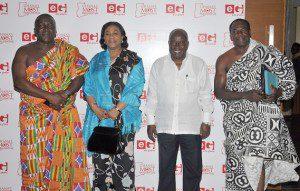 From Left: Nana Kobina Nketsiah Rebbeca Akufo-Addo and Nana Addo