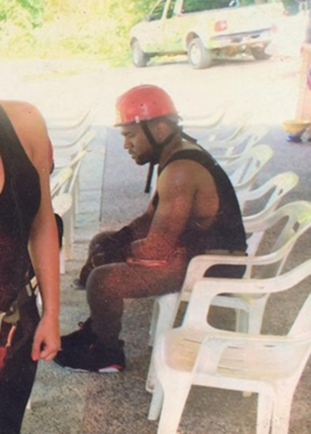 This Is the Saddest Kanye West Has Ever Looked in a Photo