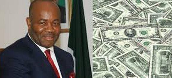 Akpabio's stolen money