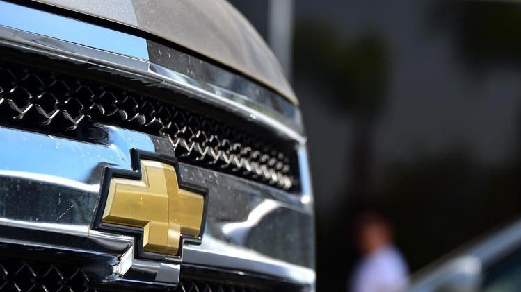 A Chevrolet Silverado pickup truck from General Motors ?