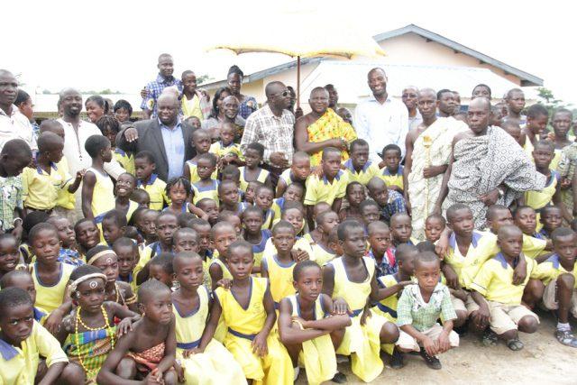 School Children at the event