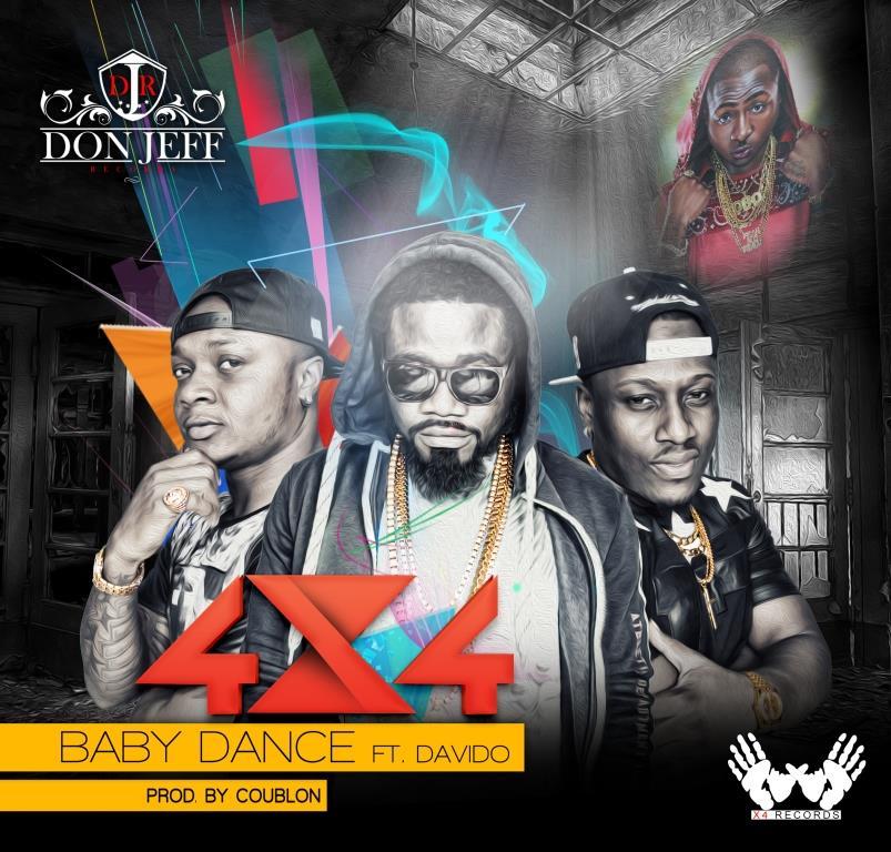 4x4 feat Davido - Baby Dance