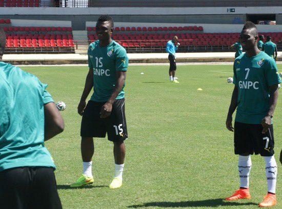 Rashid Sumaila took part in Thursday?s training session despite toe injury