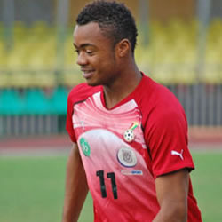 Ghana's Jordan Ayew