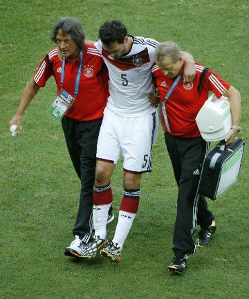 Matts Hummels is injured.