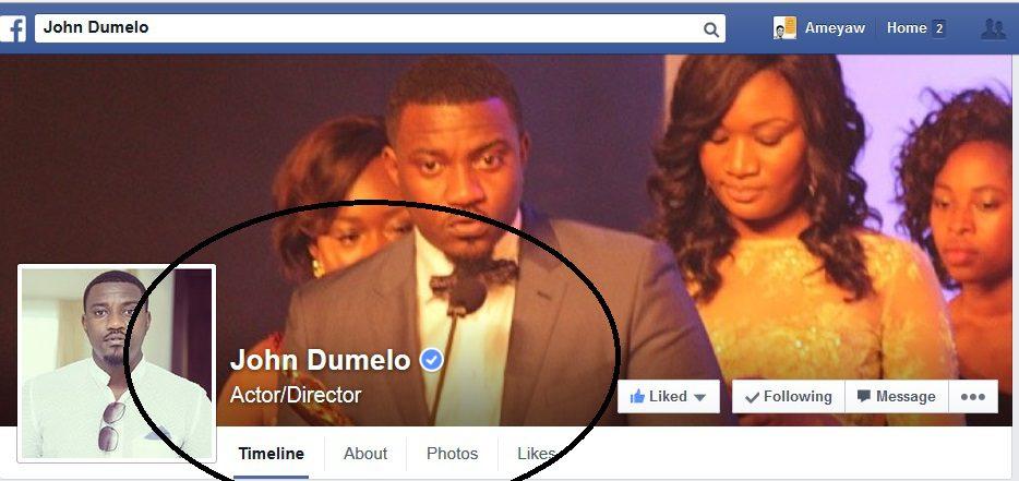 john dumelo facebook