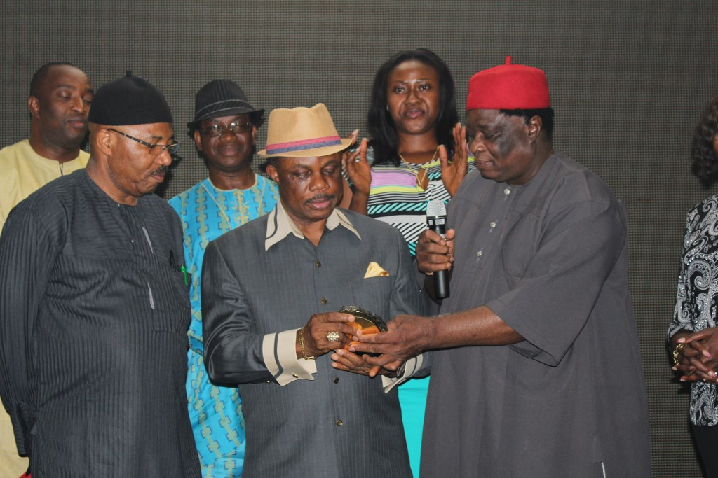 Chief Obiano and other members of ASA-World.