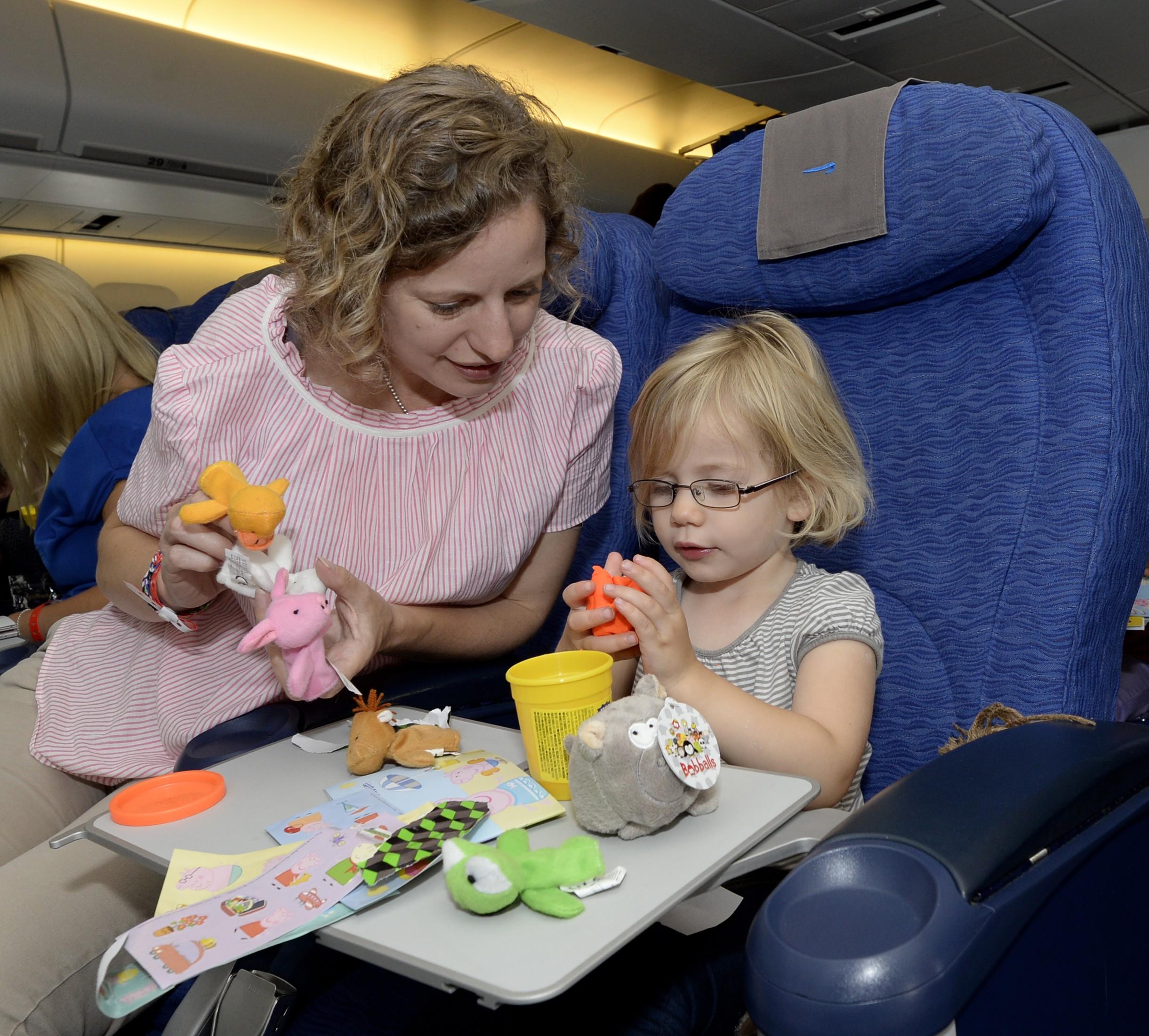 Cathy West and Elodie, 2 (British Airways-David Dyson)