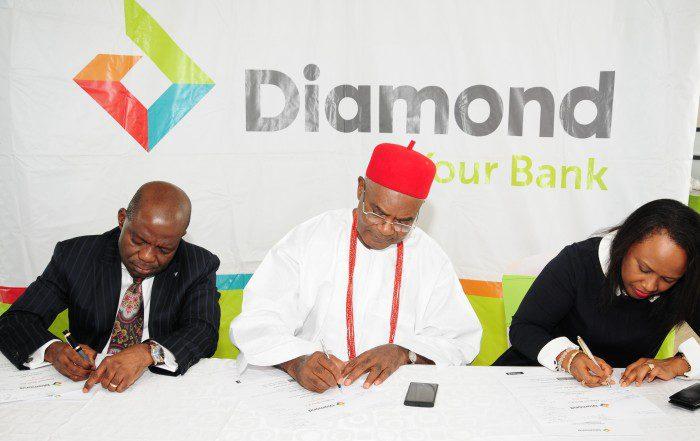 Diamond Bank IPO Signing