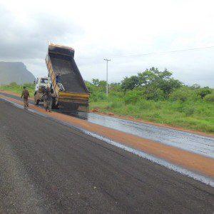 Tarring of abondoned Adaklu Road