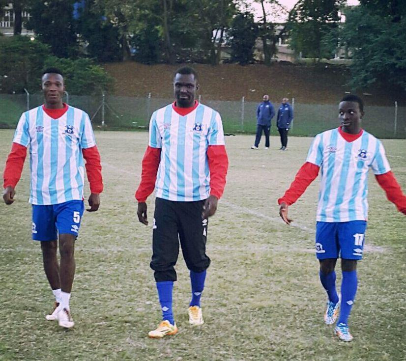From Left: John Pantsil, Awal Mohammed and Frank Sarfo Gyamfi.