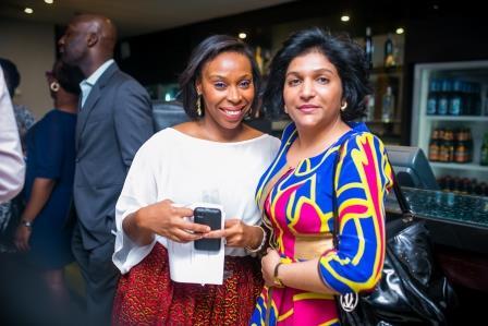 Ugoma Adegoke and Friend