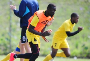Maritzburg United defender, Mohammed Awal, has joined the club for pre-season training after initially being delayed upon his return from the off-season break.