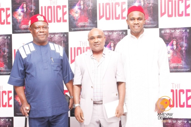 the voice movie premiere (2)
