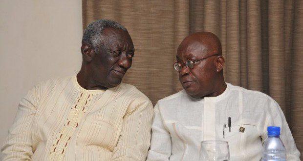 Akufo Addo and Kufuor