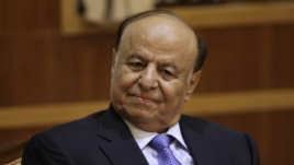 Yemeni President Abd-Rabbu Mansour Hadi