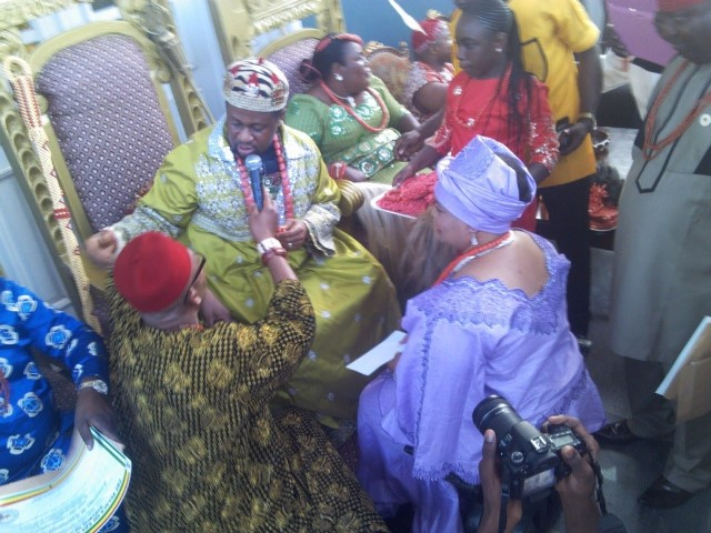 His Royal Highness Dr. Chukwudi Ihenetu, Eze Indigbo in Ghana