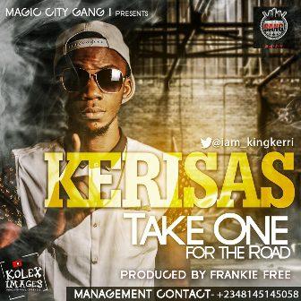 Kerisas - TAKE ONE FOR THE ROAD [prod. by Frankie Free] Artwork