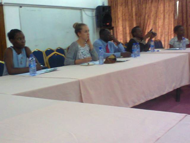 journalists at workshop
