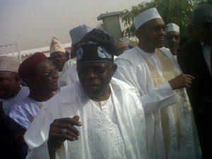 Asiwaju Bola Tinubu and Buhari in Kano