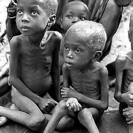 Biafra children