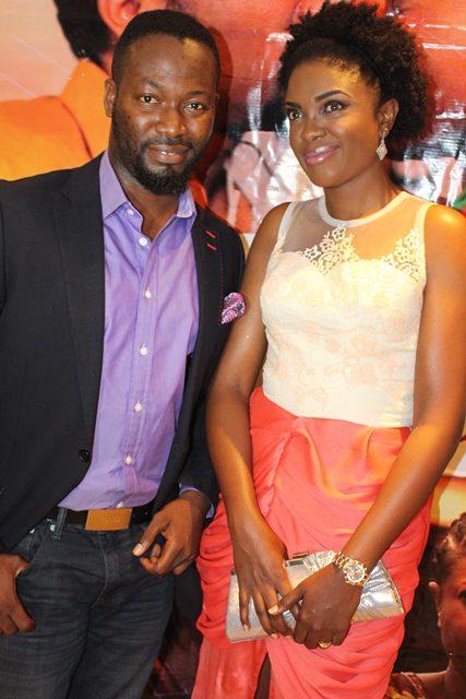 Adetey Anang and Omoni Oboli