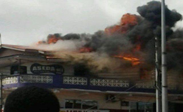 Aseda FM on fire