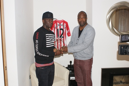 Victor Wanyama, captain of Harambee Stars of Kenya,