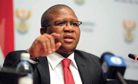 Fikile Mbalula, SA Minister of Sports and Recreation  ?