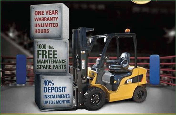 Mantrac  Cat Diesel Forklifts