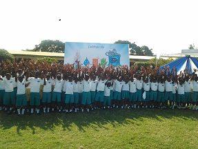 Group Picture of students of Saint Bernadette Soubirous School