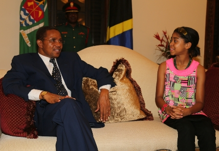 With President Kikwete of Tanzania (1)