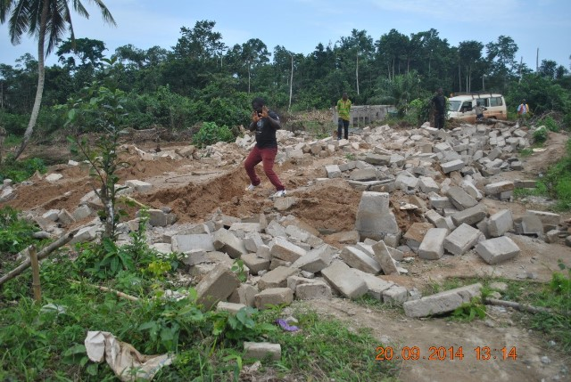 Nkroful mining disturbances