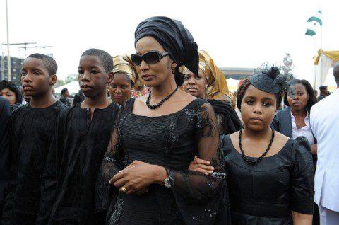 The widow of Nigeria's seccessionist lea