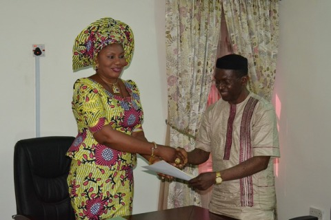 Mrs Obiano and Dr Egwuatu