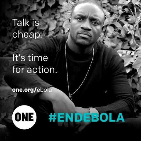 Celeb Akon ebola
