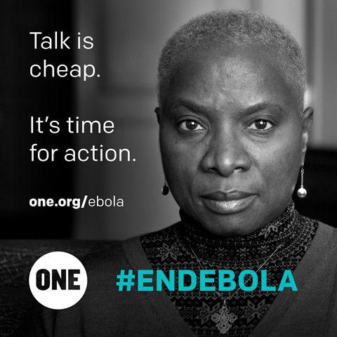 Celeb Angelique ebola