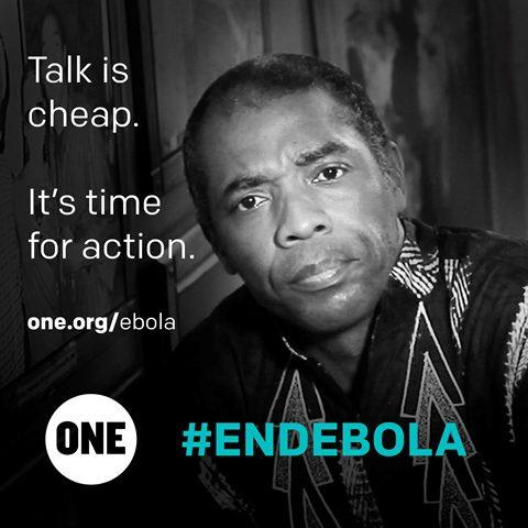 Celeb Femi ebola
